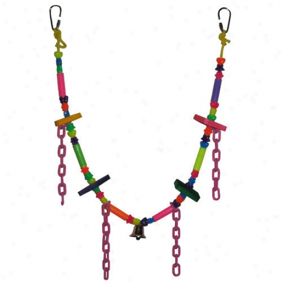 Fetch-it Pets Polly Wanna Necklace Bird Toy