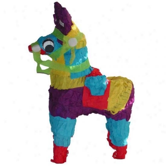 Fetch-it Pets Polly Wanna Pinatas Donkey Bird Toy