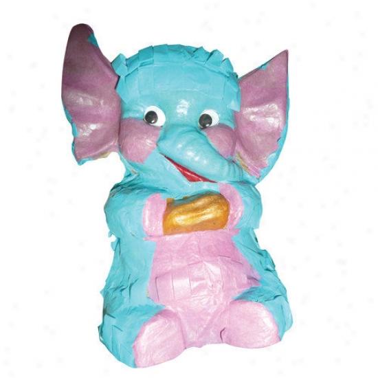 Fetch-it Pets Polly Wanna Pinatas Elephant Bird Toy