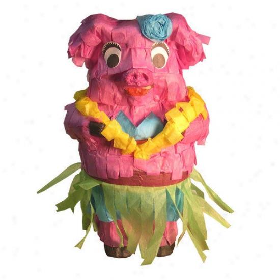 Fetch-it Pets Polly Wanna Pinatws Hula Piggy Bird Toy