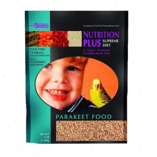 Fm Browns 44556 Nutrition Plus Supreme Food