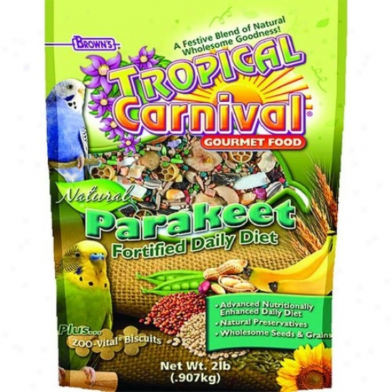 Fm Browns 44906-7 Tropical Carnival Natural Parakeet