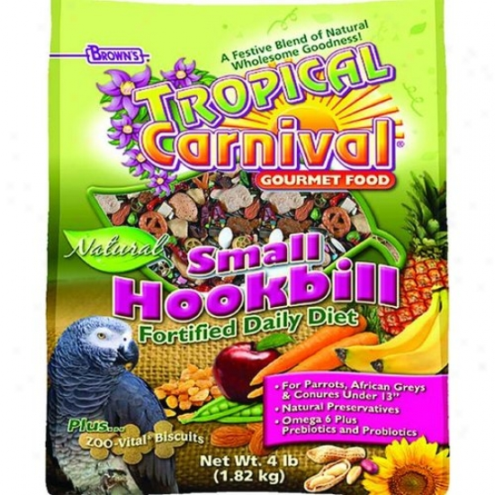 Fm Browns 44912-8 Tropical Carnival Small Hookbill