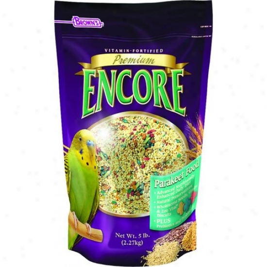 Fm Browns 51146 Encore Parakeet Food