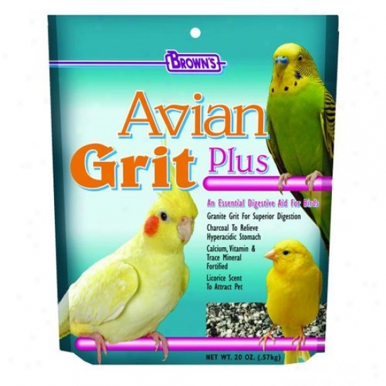 Fm Browns 51298 Super Premium Avian Grit