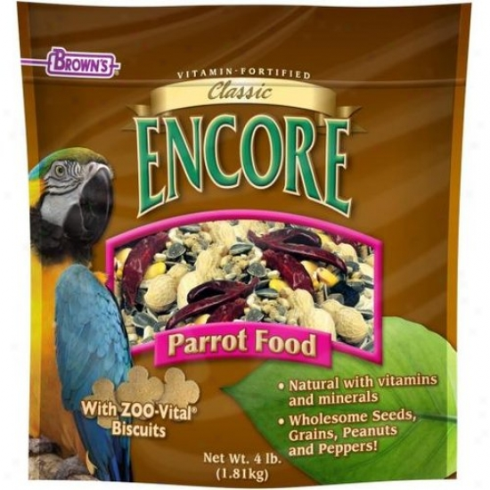 Fm Browns 54020-7 Again Classic Natural Parrot Food