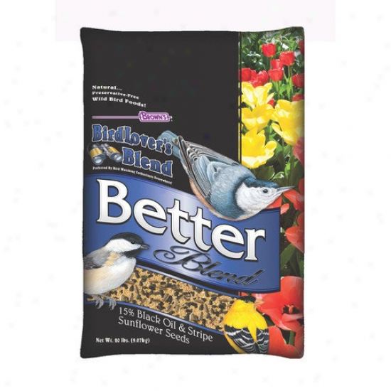 F.m. Browns Wildbird Birdlovers Blend Better Blend Wild Bird Seed Mix