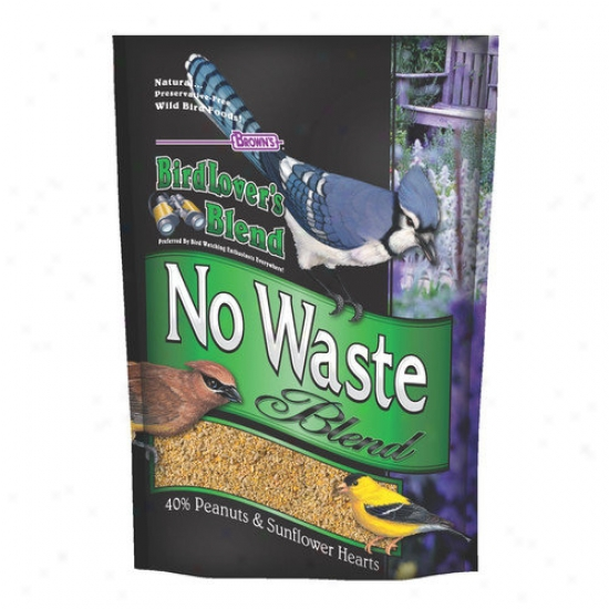 F.m. Browns Wildbird Birdlovers Blend oN Waste Blend Wild Bird Seed Mix
