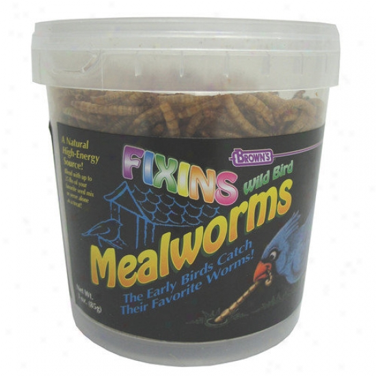 F.m. Browns Wildbird Mealworm Fixins Tub Wild Bird Food