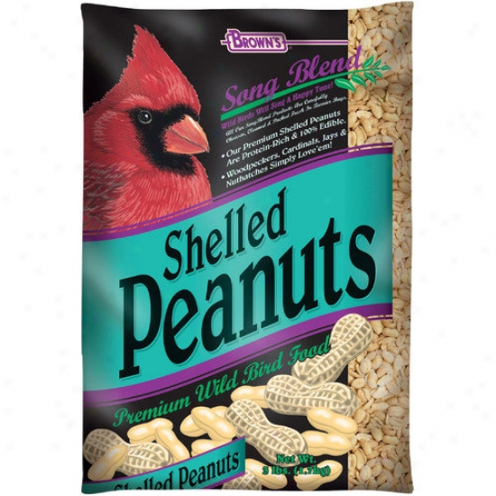 F.m. Browns Wildbird Shelled Peanuts Wild Bird Food