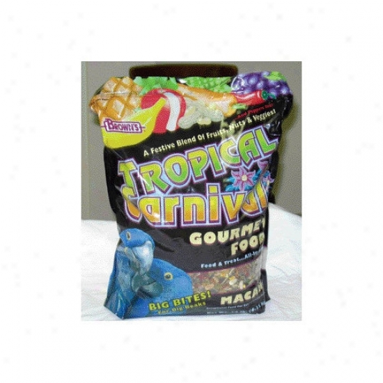 F.m. Browns Wildird Tropical Carnival Macaw Food - 14 Lbs