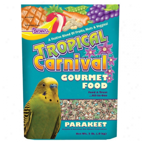 F.m. Browns Wildbird Tropical Carnival Parakeet Food - 2 Lbs
