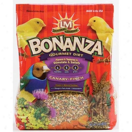 Hartz Bonanza Gourmet Canary And Finch Dier Food - 2 Lbs