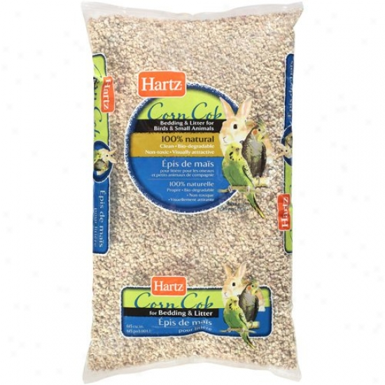 Hartz: Salt moderately Cob Bedding & Litter, 10 L