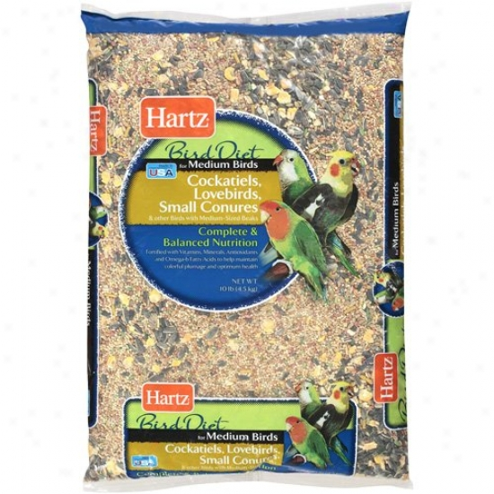 Hartz: Intervening substance Bird Di3t Food, 10 Lb