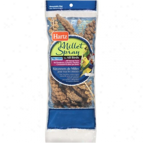Hartz Millet Spray For Bird (7 Bags)