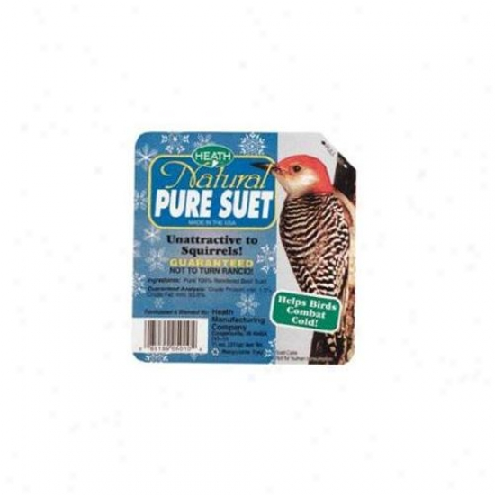 Heath 296740 Natural Pure Suet Cake