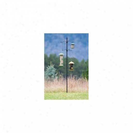 Hiatt Manufacturing Hiatt50351 Bird Feeder Station 4 Hook Contrivance