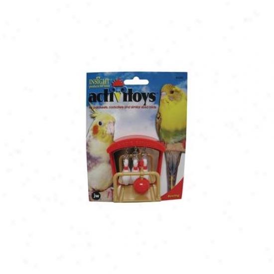 Jw Pet Company Inc 31093 Birdie Bowling Toy
