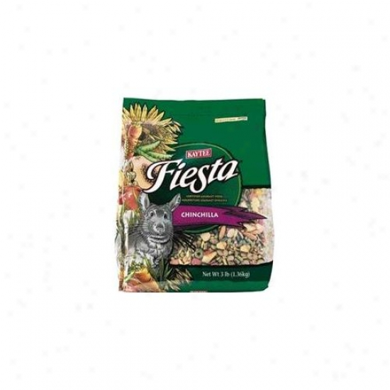 Kaytee Products Inc - Fiesta Chinchilla Food 2. 5 Pound - 100032285