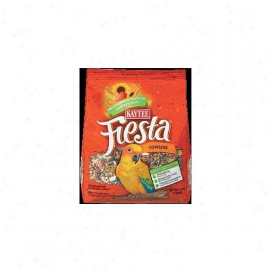 Kaytee Products Inc - Fiesta Max Food- Conure 4. 5 Pound - 100032247