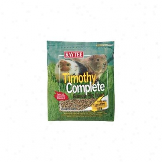 Kaytee Products Inc - Timothy Complete Guniea Pig Feed 5 Pound - 100032617