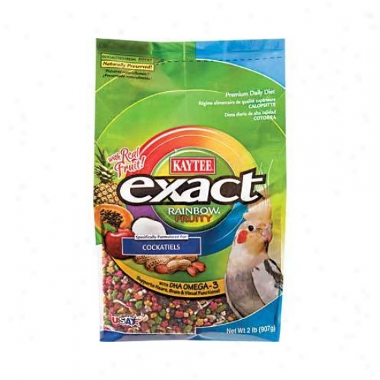 Kaytee Products Wild Bird Exact Rainbow Fruity Bird Food