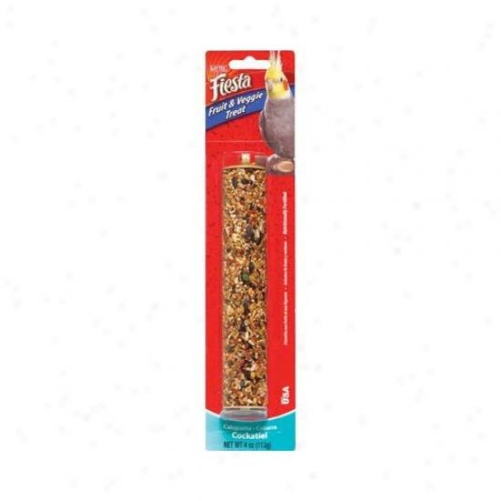 Kaytee Products Wild Bird Fiesta Fruit And Veggie Treat Stick