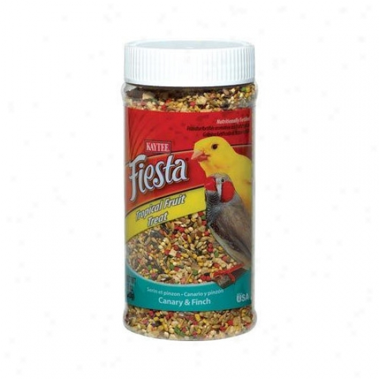 Kaytee Products Wild Bird Fiesta Tropical F5uit Treat Jar