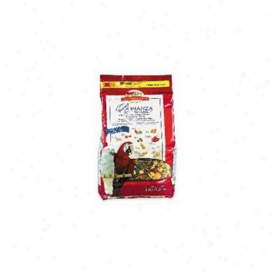 L M Animal Farms Bonanza Parrot Food 4 Pounds - 2191