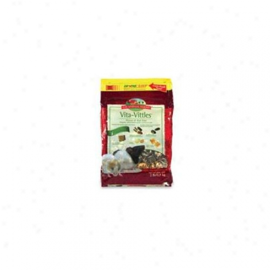 L M Animal Farms Prem Vitavittles Gld Mouse Rat 2 Pounds - 02987