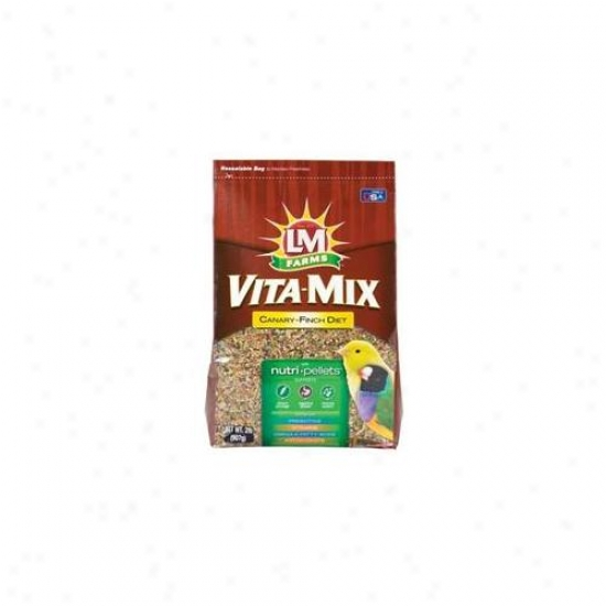 L-m Animal Farms - Vita-mix Diet- Canary-finch 2 Pound - 12681