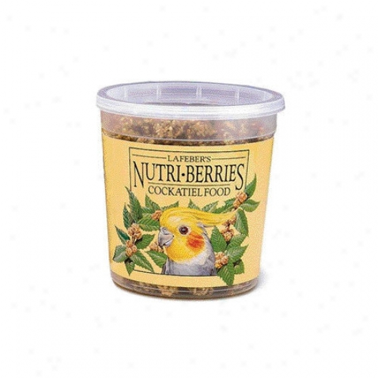Lafebercares 4.5'' Nutri-berries Cockatiel Aliment