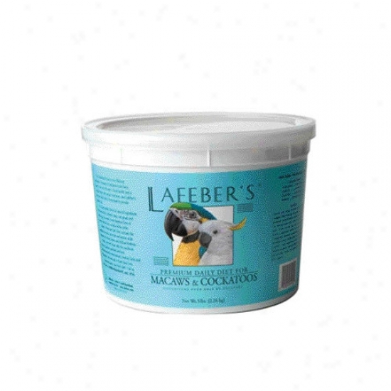 Lafebercares Macaw And Cockatoo Pellets