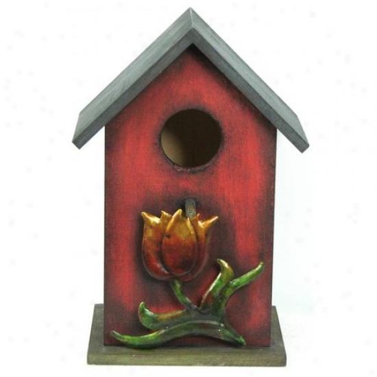 Link Direct A00502/1-ups Wood Bird House