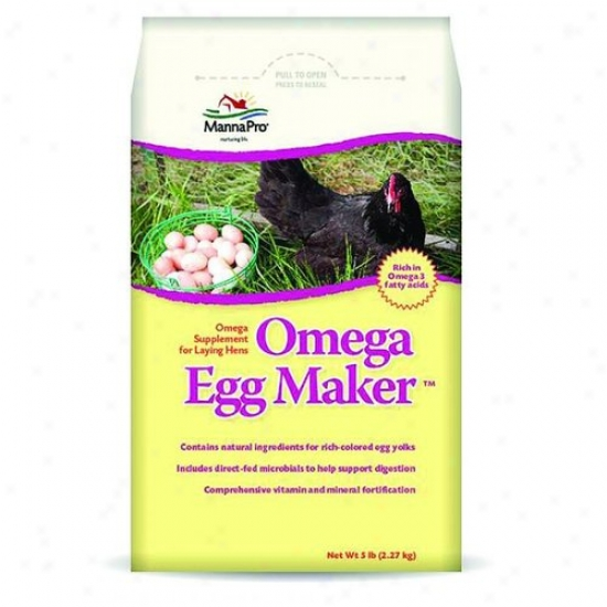 Manna Pro 00-2004-3236 Omega Egg Maker Supplement For Laying Hens