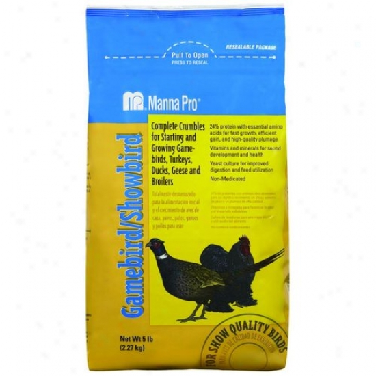 Manna Pro 00-4620-3245 Gamebird/showbird Feed
