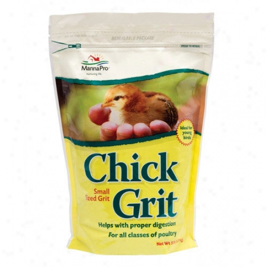 Manna Pro-farm Chicken Grit Poultry Health Care - 5 Lbs