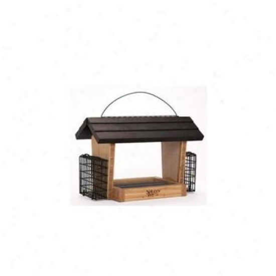 Natures Way Nwbwf19 Bamvoo 6 Qt Hopper Feeder Wi5h Suet