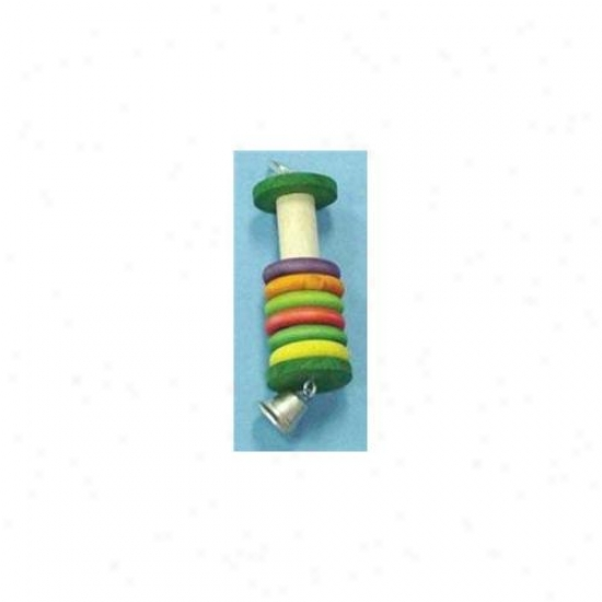 North American Pet Bbo22327 Lifesaver Parrot Toy