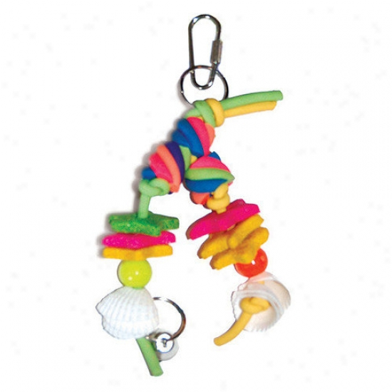 Prevue Henxryx Cal-sea-yum Legs Skall Bird Toy