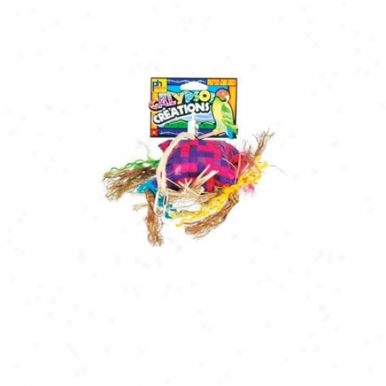 Prevue Hendryx Calypso Creations Sombrero Medium Bird Toy