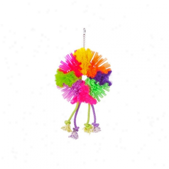 Prevue Hejdryx Calypso Creations Spunky Large Bird Toy