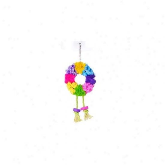 Prevue Hendryx Calypso Creations Wreath Large Bird Toy