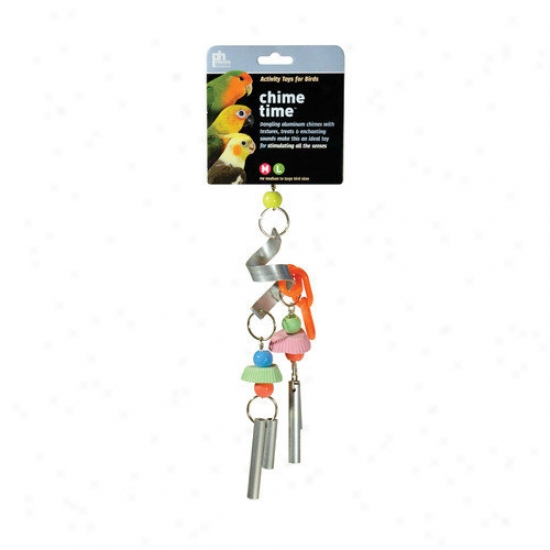 Prevue Hendryx Chime Time Cyclone Medium Bird Plaything