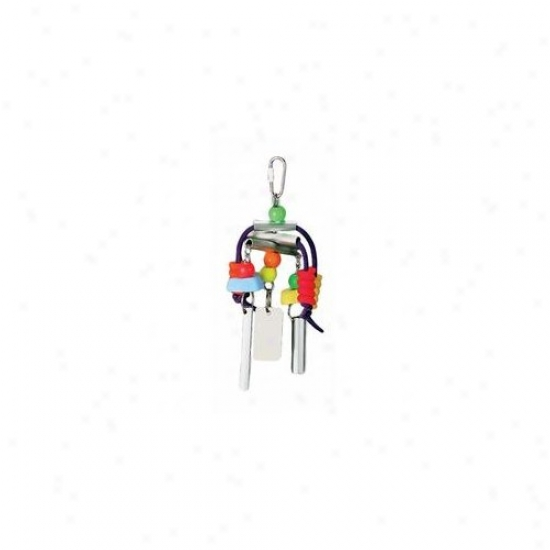 Prevue Hendryx Chime Time Summer Breeze Medium Bird Toy