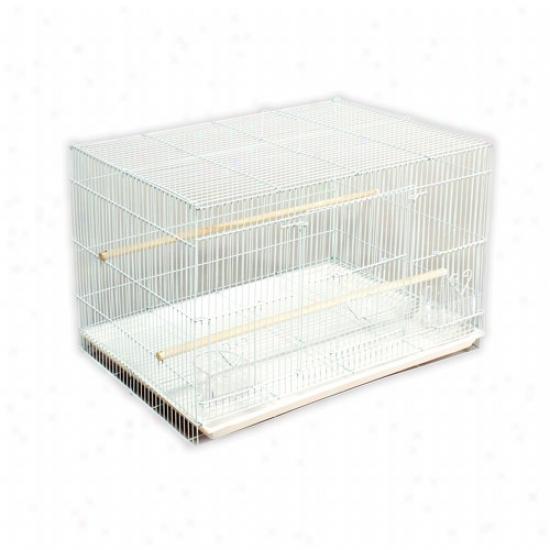 Prevue Hendryx Flight Cage In White