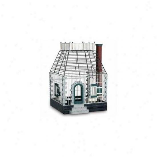 Prevue Hendryx Pp-292 Featherstone Heights St0ne Cottage Bird Cage