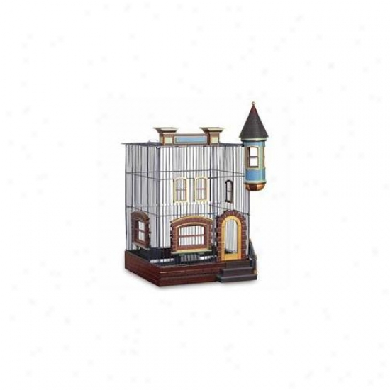 Prevue Hendryx Pp-293 Featherstone Heights Brownstone Bird Cage