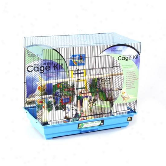 Prevue Hendryx Pp-91340 Medium Flight Cage Kit
